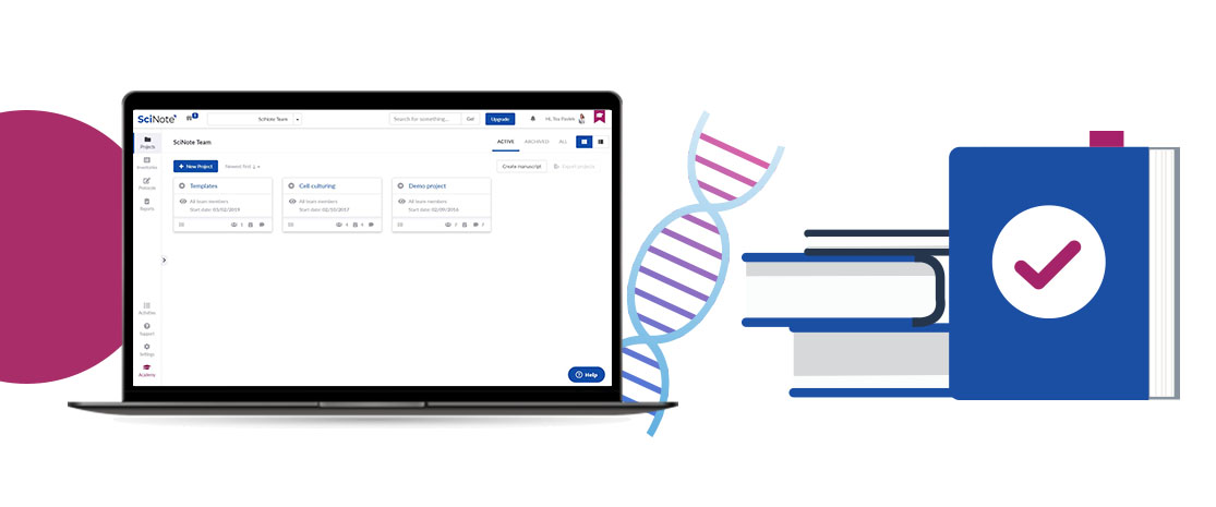 Managing and Saving Scientific Data_Going from Paper to Electronic Lab Notebooks and to DNA Storage