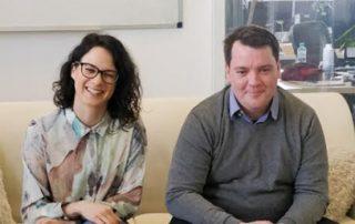 Blazka and Miha representing new SciNote functinalities