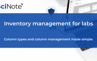 Inventory Management For R&D Labs