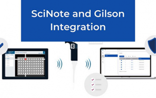 SciNote and Gilson integration