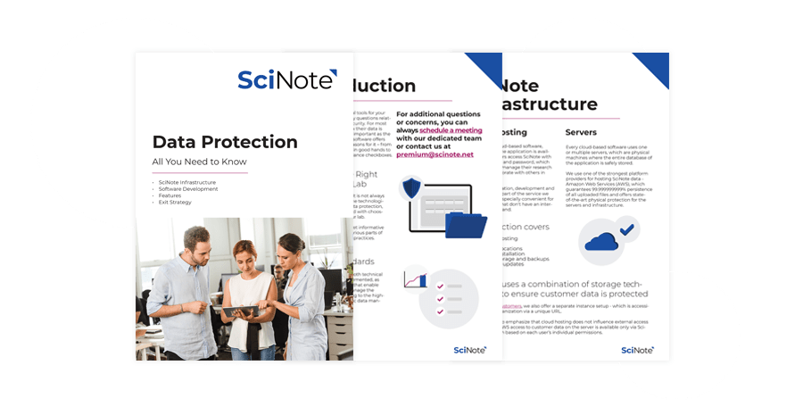 SciNote whitepaper preview