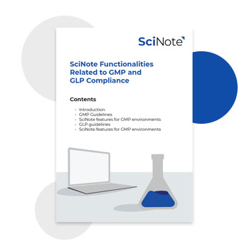 GMP and GLP compliance